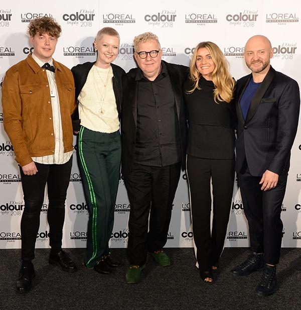 L'Oréal Colour Trophy judges