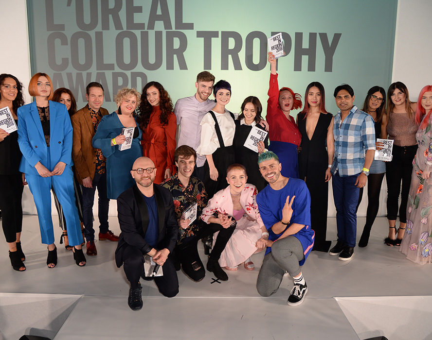 L'Oréal Colour Trophy finalists