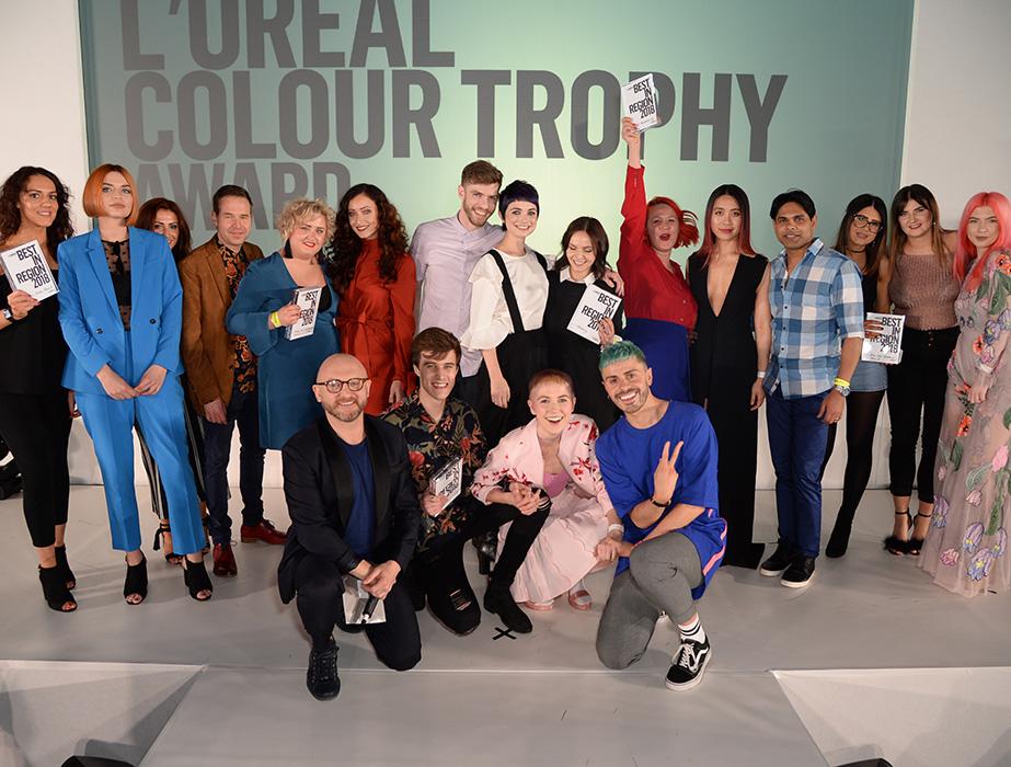 L'Oréal Colour Trophy finalists