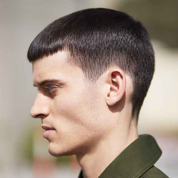 How To Style An On Trend Mens Military Haircut Watch Now
