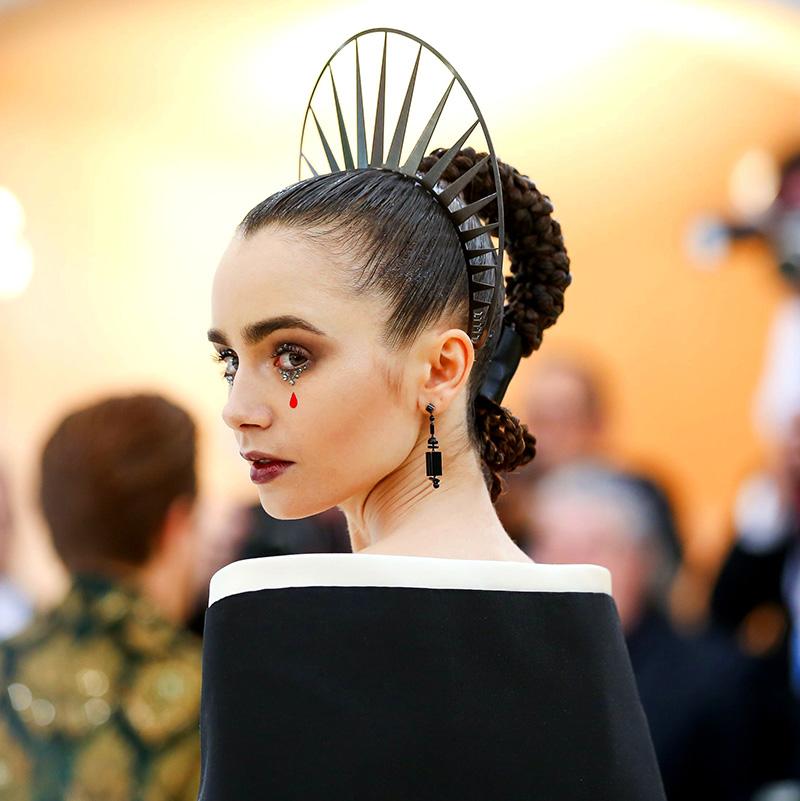 Met Gala 2018 hair
