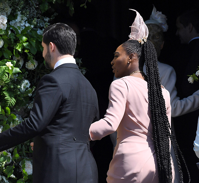 Serena Williams Royal Wedding.How To Recreate Serena Williams Stunning Royal Wedding Look Hji