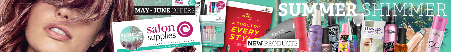 Salon Supplies May to June Offers