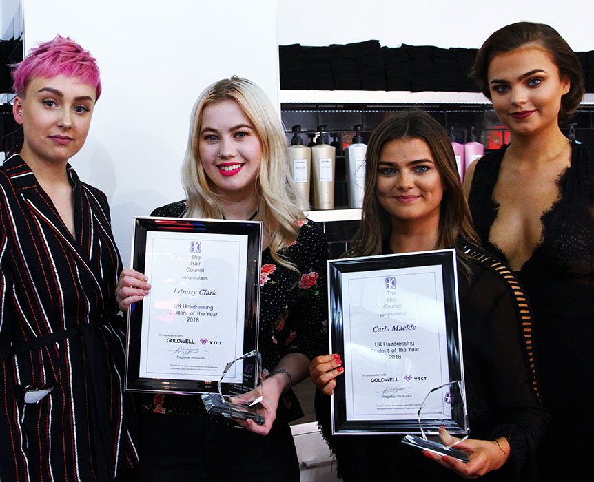 hair council Student of the year competition