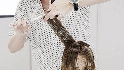 style a curly bob step 8