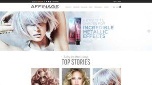 Affinage homepage