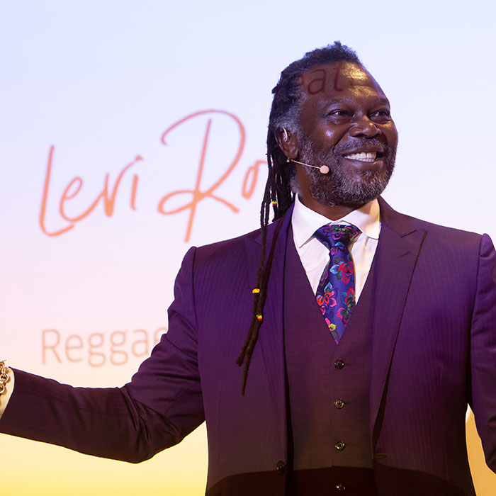 Levi Roots Wella Business Network Live 2018
