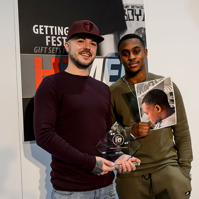 Afro Barber of the year Graham Grimshaw