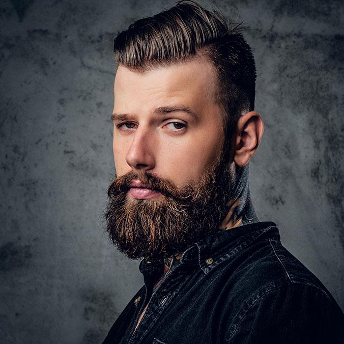 beards contain faecal matter