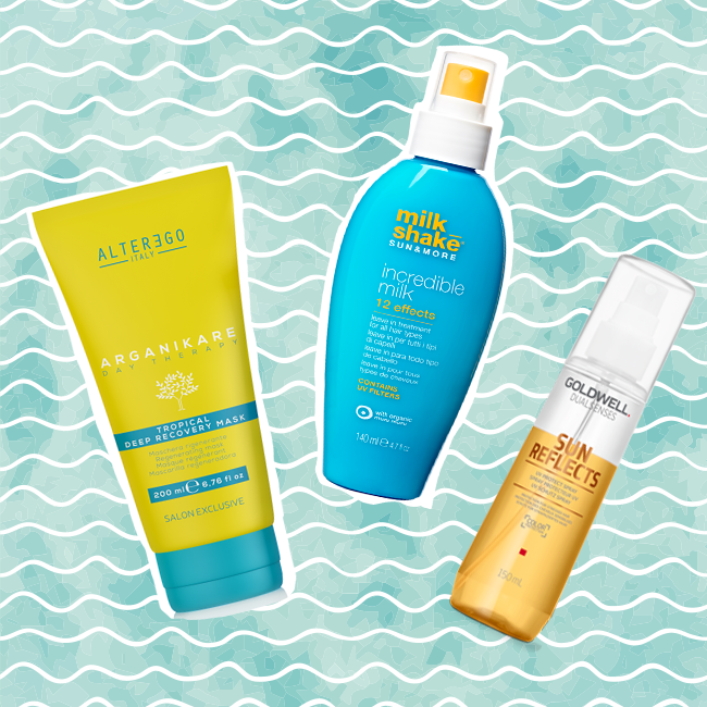 holiday haircare products summer