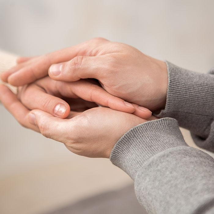 Mental Health Holding Hands