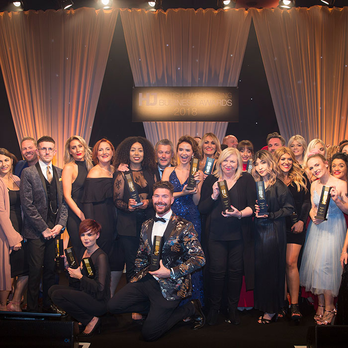 British Hairdressing Business Awards winners 2018