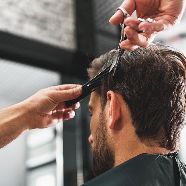 British Barber Association barber haircut