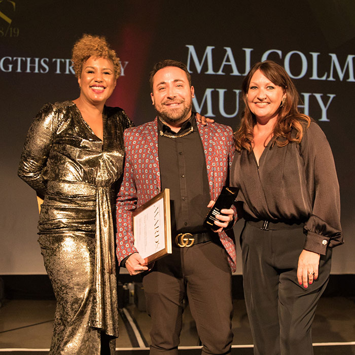 Great Lengths Awards Malcolm Murphy