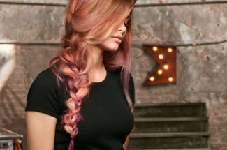subtle pink hair colour how to