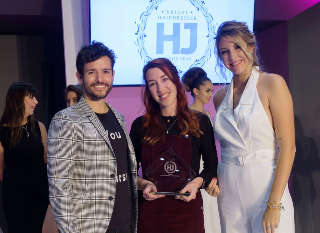 bridal hairdresser of the year competition winner 2018