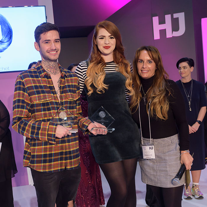 hj hair competitions Remi cachet extensions of the year classic look