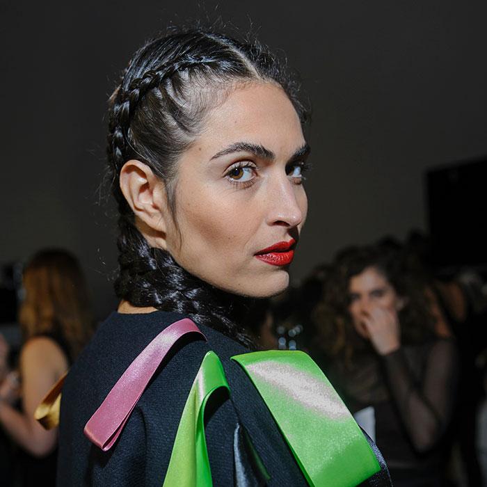fashion motion l'oreal professionnel surrealist braids by Johanna cree-brown
