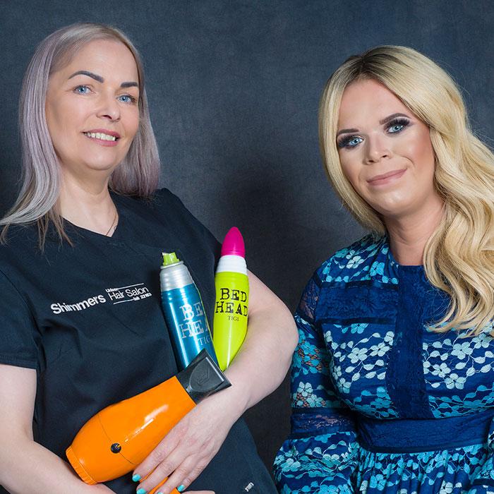 transgender hair service shimmers salon