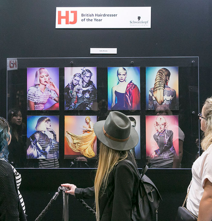 British Hairdressing Awards gallery at Salon International