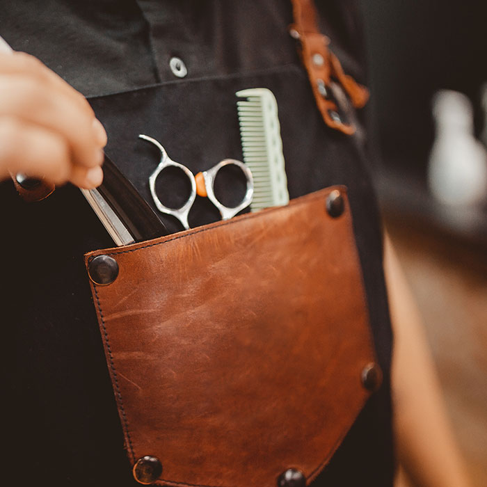 freelance barber tool belt