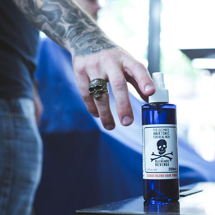 hair tonic the bluebeards revenge