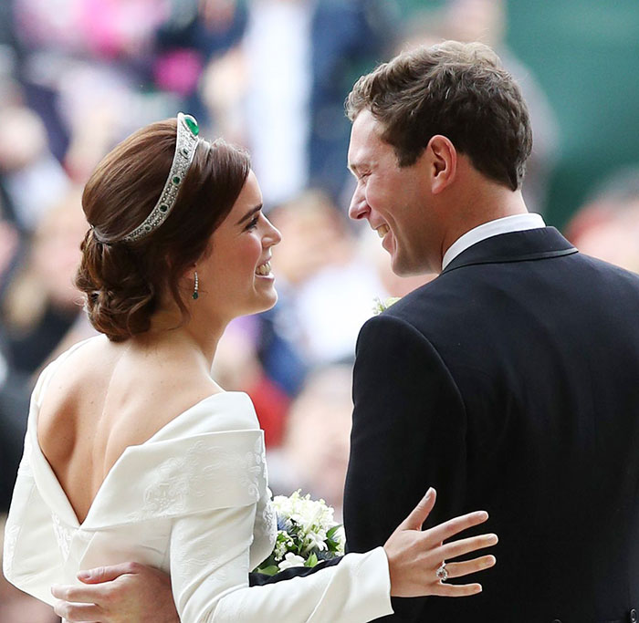 princess eugenie wedding hair