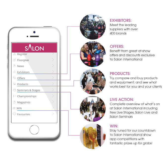 salon exhibitions app