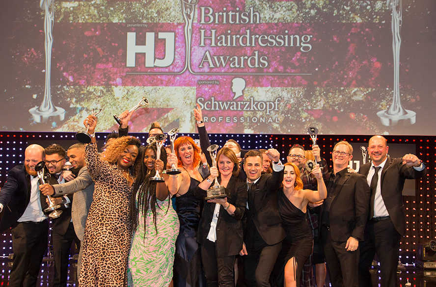 British Hairdressing Awards 2018 winners
