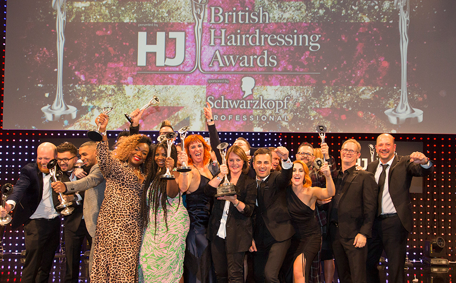 British Hairdressing Awards 2018 winners