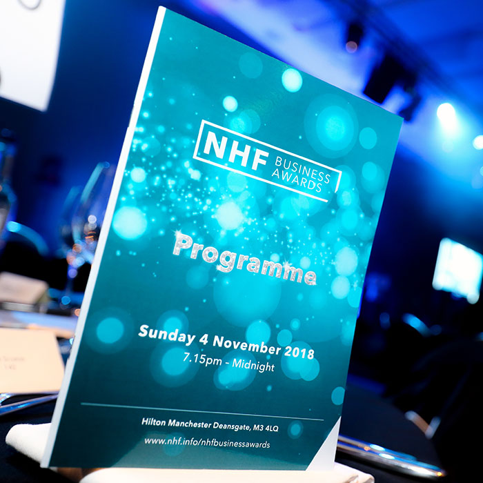 NHF business awards 2018