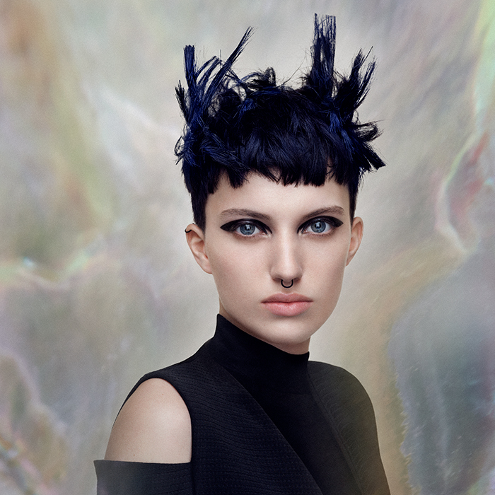 angelo seminara British hairdresser of the year 2018 nominee collection