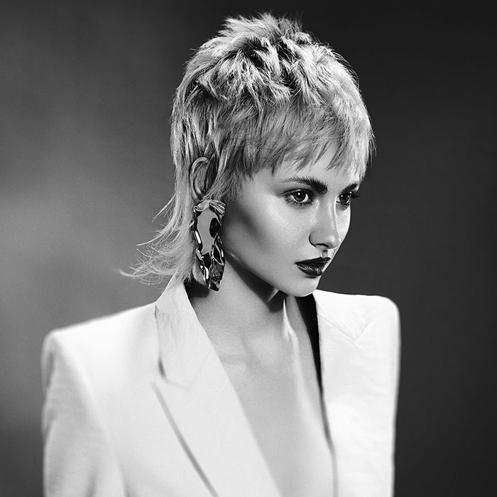 Victoria Taylor Wales and south west bha hairdresser of the year 2018 finalist collection