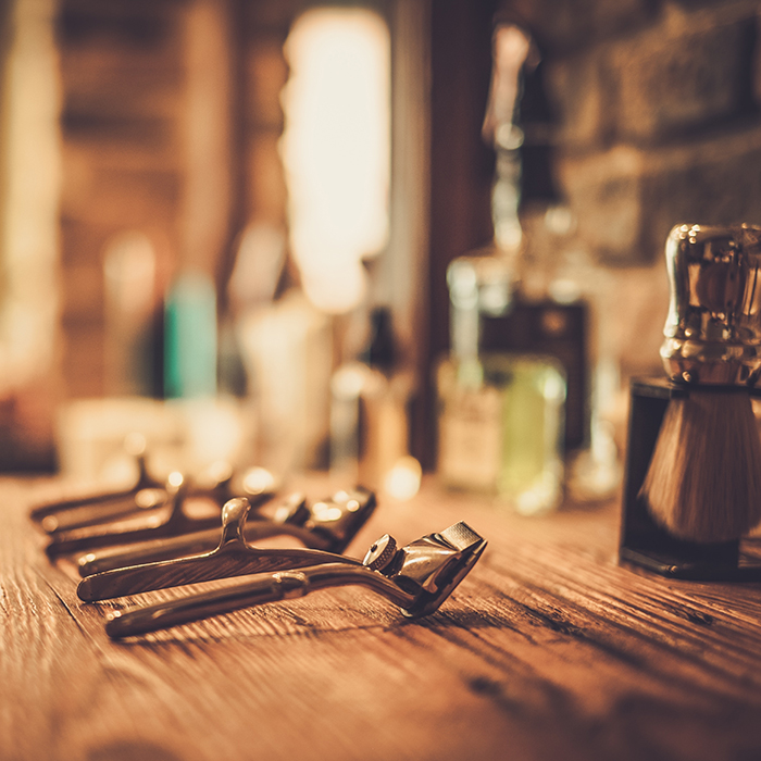 male grooming trends barber equipment