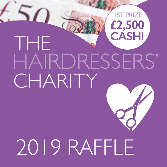 The Hairdressers Charity raffle