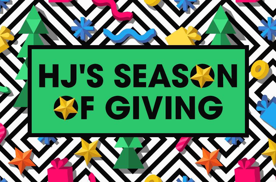 HJ's Season of Giving
