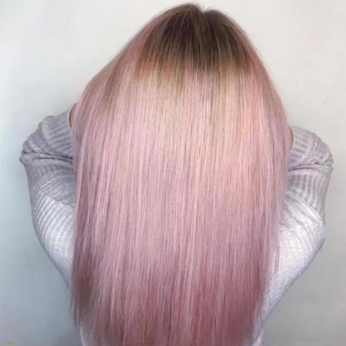 Instagram Hair Colour - pink lemonade
