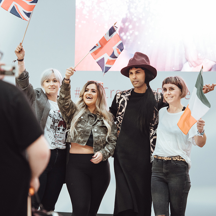 wella trend vision awards hairdressing industry and events