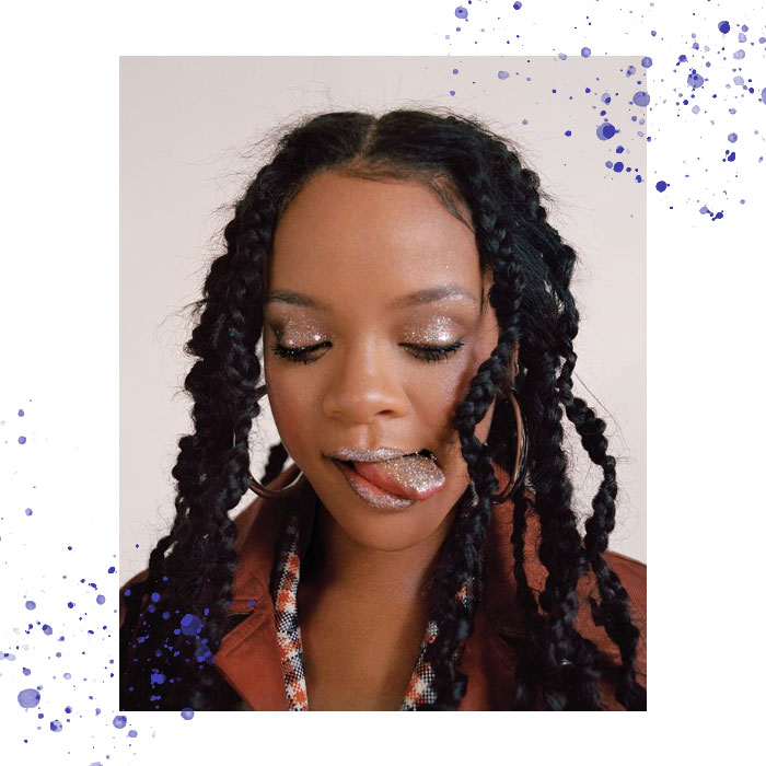 Celebrity afro hair looks