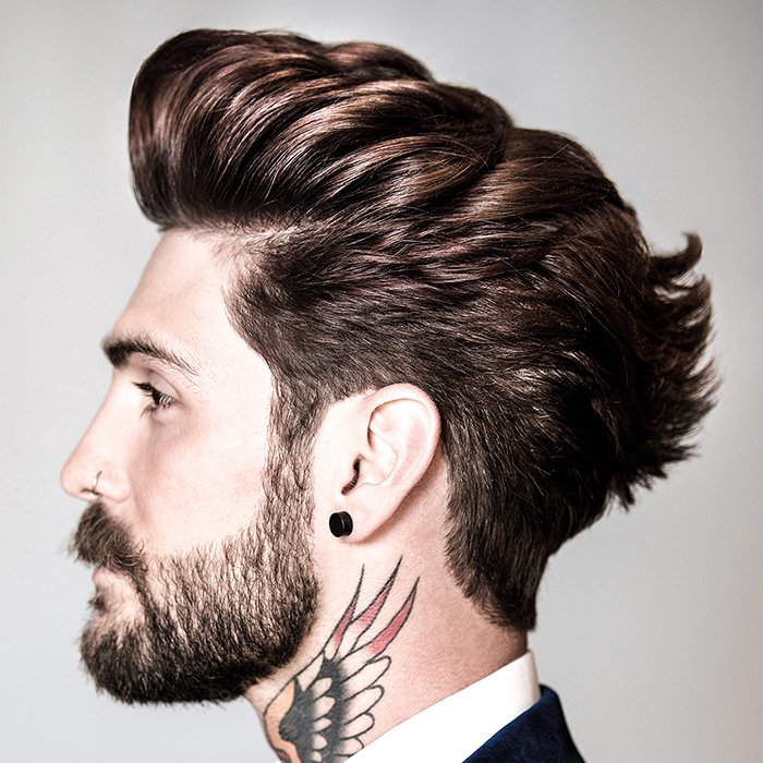 mens hairstyles james Beaumont