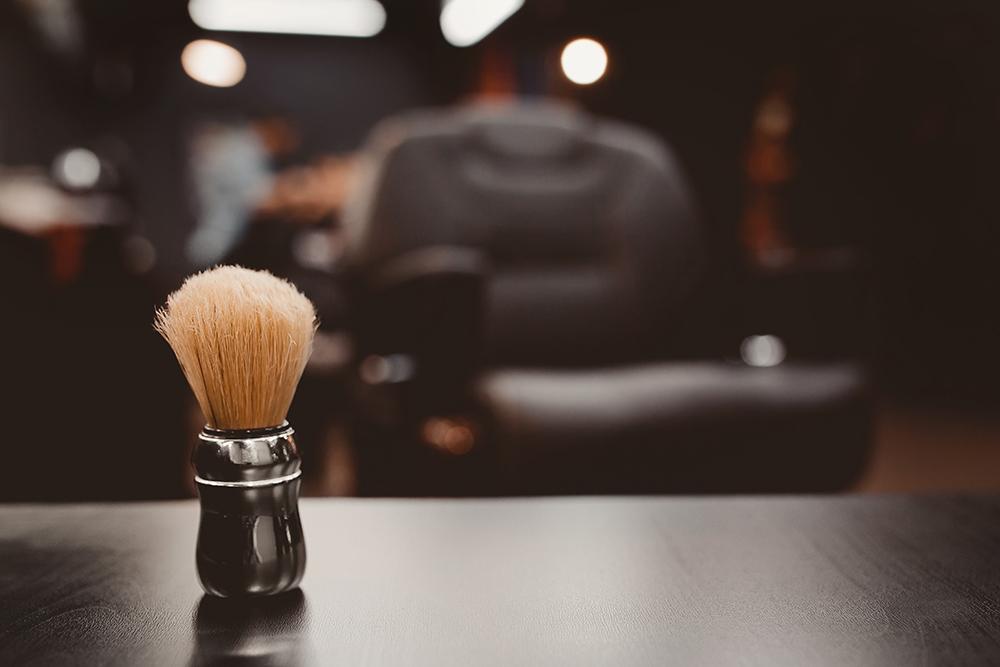 male grooming trends shaving brush