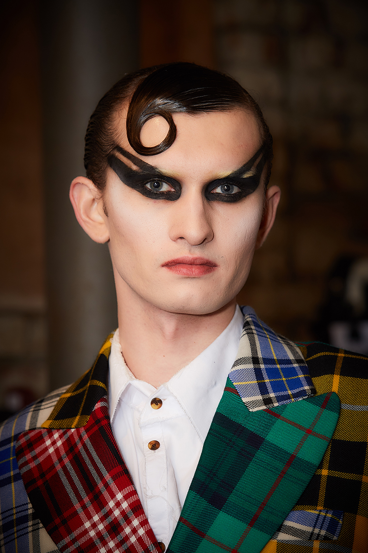 charles Jeffrey London fashion week mens hair trends