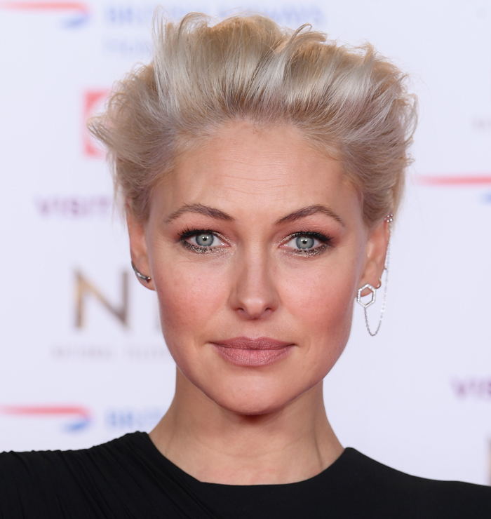 Emma Willis at the National Television Awards 2019