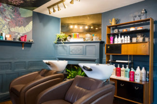 Matthew Curtis Salon interiors