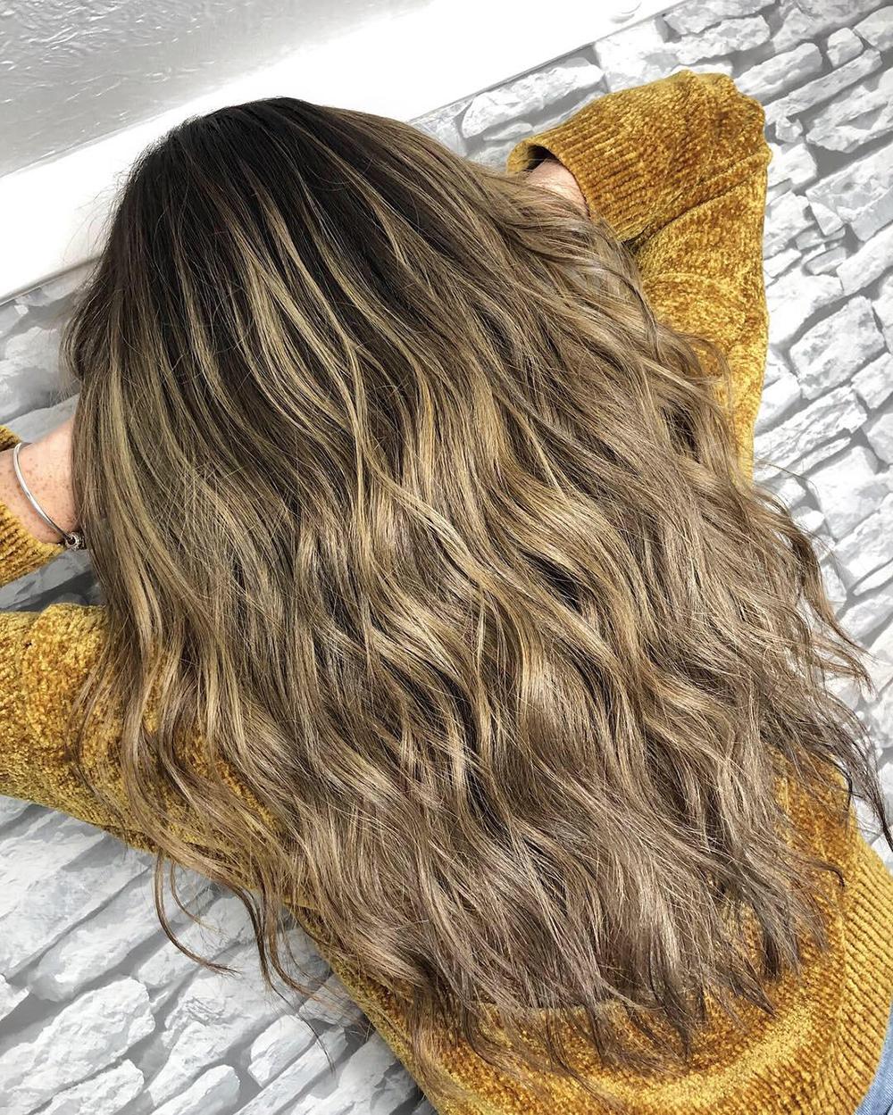 brunette hair biscuit bronde