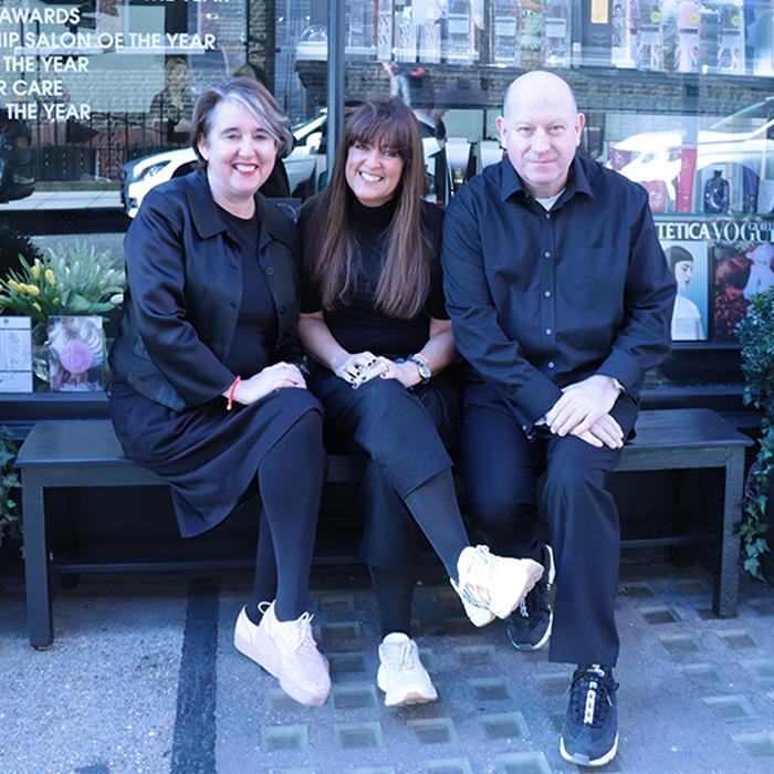 Debbie G, Lesley Jennison and Billi Currie