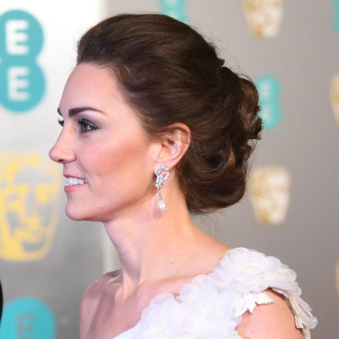 baftas 2019 hair duchess of cambridge