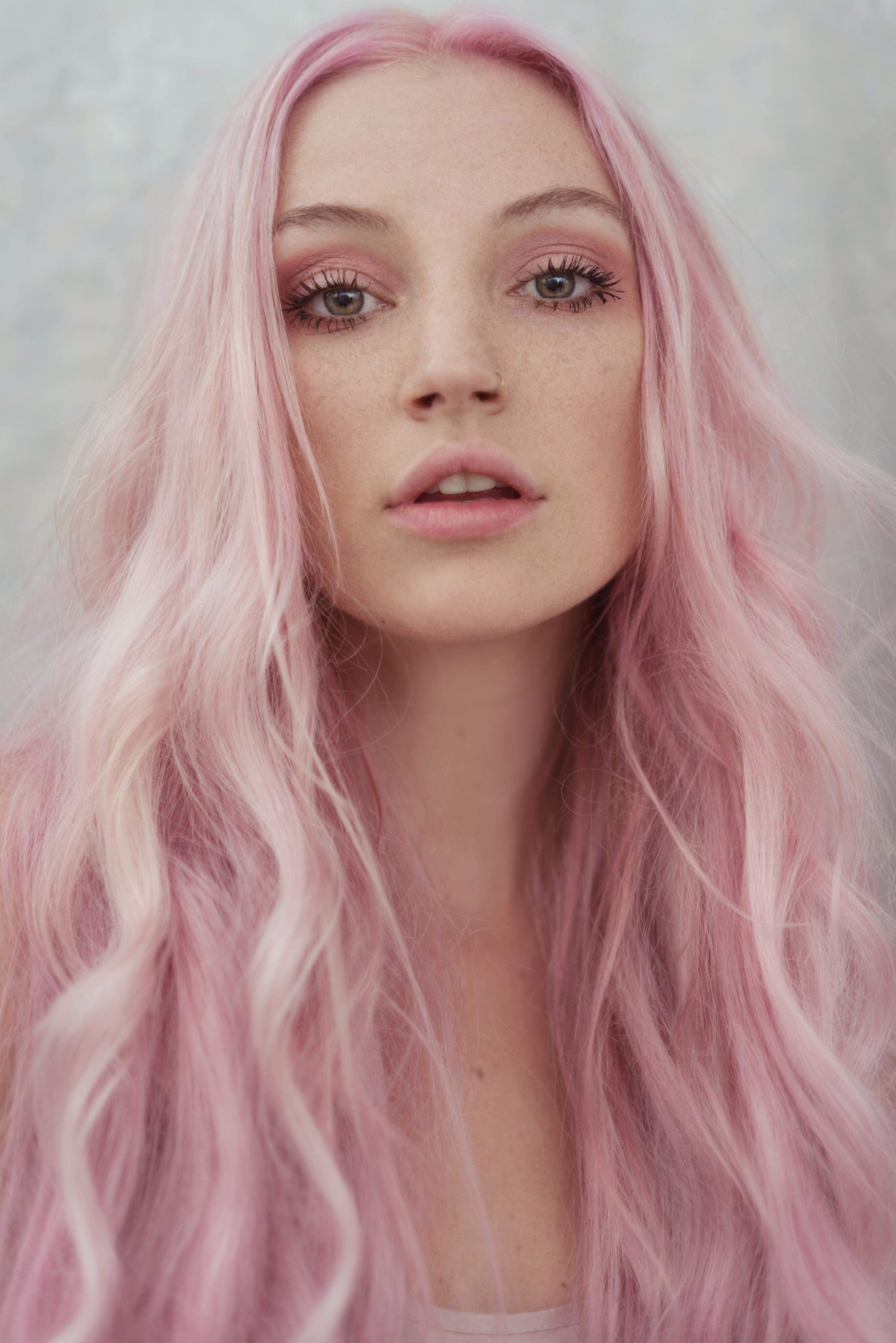 pink hair get the look