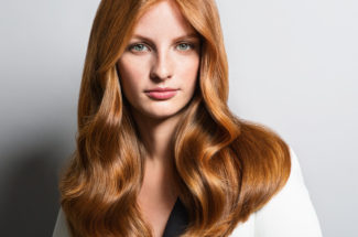coppery blonde