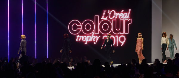 L'Oréal Colour Trophy 2019 shows